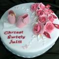 """http://www.cakestudio.pl W """"CAKE STUDIO"""" przygotujemy piękny i smaczny tort na chrzest twojego maleństwa. Odwiedź naszą stronę firmową http://www.cakestudio.pl lub http://www.facebook/cakestudiowarszawa #tort #ciasta"""