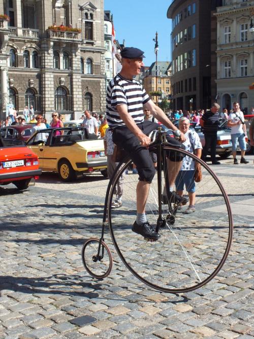 Co tam automobile,bicykl to je to :) #Czechy #DniDziedzictwa #Liberec