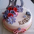 Czterdziestka Kasi #tort #okolicznościowy #czterdziestka #TortyOkolicznościowe