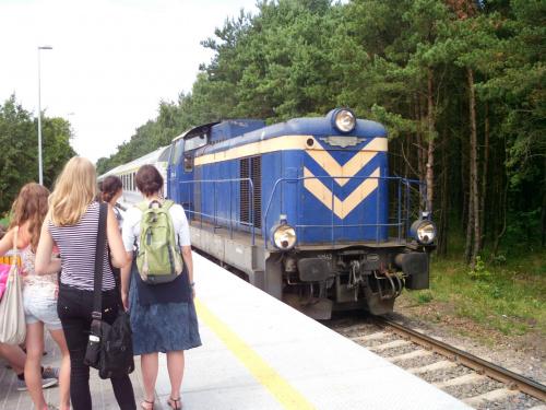 #chałupy #kolej #pkp #pociąg