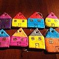 domki #BożeNarodzenie #domki #MasaSolna #prezenty #RęcznieMalowane #rękodzieło #święta #upominki