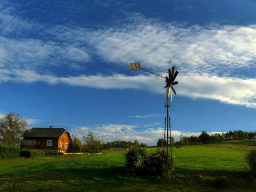 Zdjęcie konkursowe #jesień #wiatrak #wieś