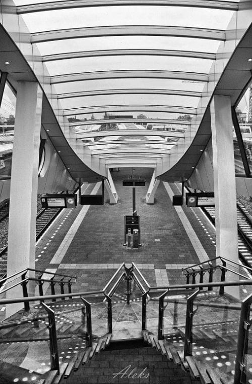 dworzec w Arnhem #holandia #miasto