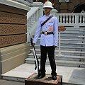 Ochrona na terenie Wielkiego Pałacu w Bangkoku #Tajlandia #Bangkok