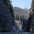 Kierunek - Tatry #Tatry #Zakopane #Giewont #zima #droga