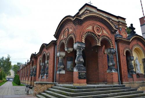 kościół garnizonowy św Jerzego w Łodzi