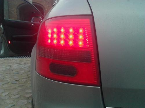 Tylne Lampy Led Do Audi A6 Avant Dectane C5 1997 2004