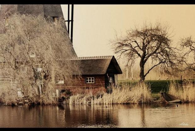 kiedyś w Kinderdijk #holandia #wiatrak