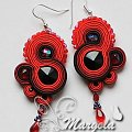 #sutasz #soutache #kolczyki #earrings