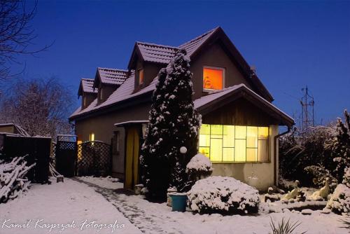 Zimowe wydanie :) #dom #nocne #zima