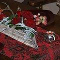 Dekoracja stołu, aranżacja walentynkowa #AranżacjaStołu #walentynki #dekoracje #DekorowanieStołu