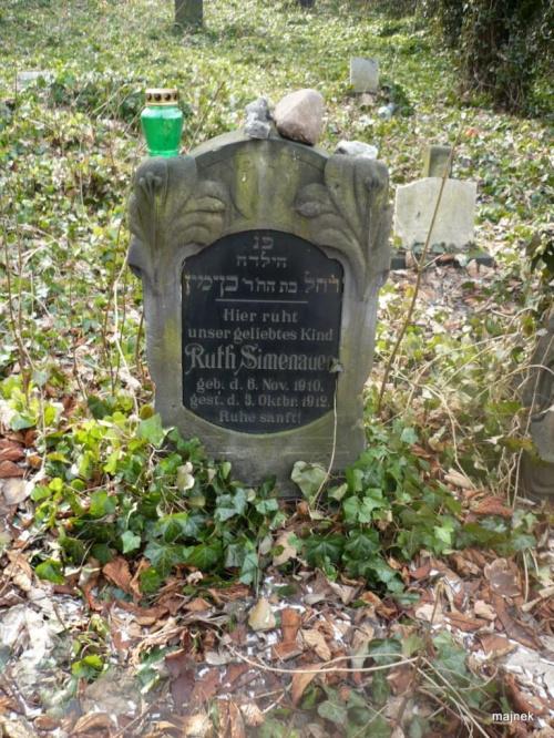 Cmentarz żydowski w Zabrzu #CmentarzŻydowskiWZabrzu #kirkuty