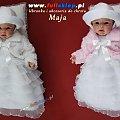 sukieneczki do chrztu sklep dla dziewczynek #sklep #SukienkiNaChrzest #SukieneczkiDoChrztu #bolerko #białe #różowe #futerko