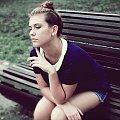 Słuchaj jak dwa serca biją, co ludzie myślą to nieistotn #kobieta #ludzie #SesjaZdjęciowa #vintage