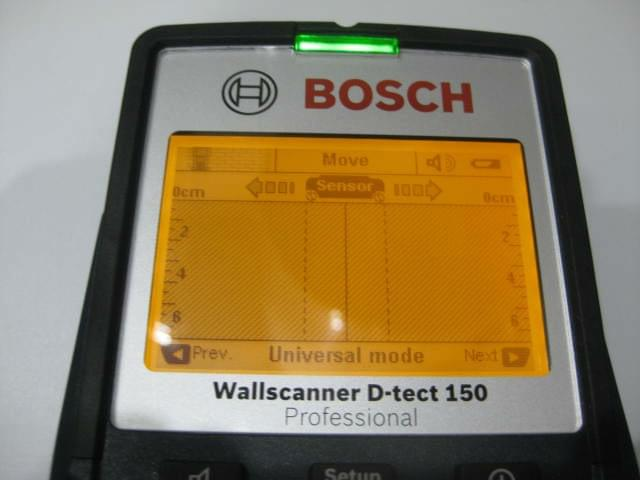 Bosch d tect 150 digital wall scanner detector case ebay for Bosch scanner mural d tect 150 professional