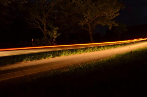 Pas Światła #noc #światło
